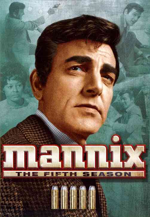 MANNIX:FIFTH SEASON BY MANNIX (DVD)